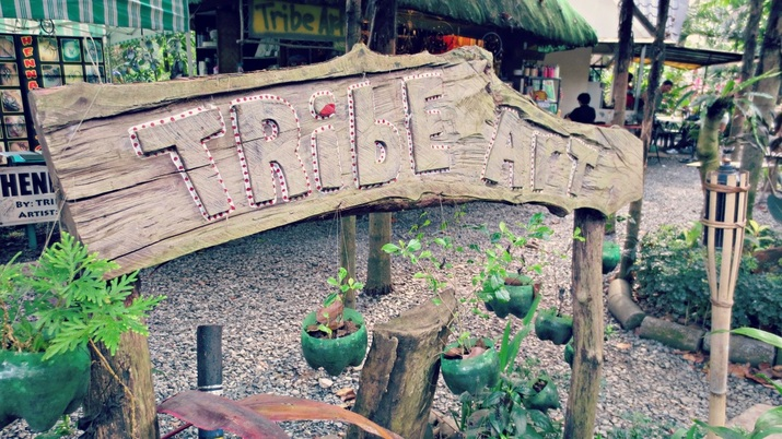 La Mesa Eco-Park Tribe Art