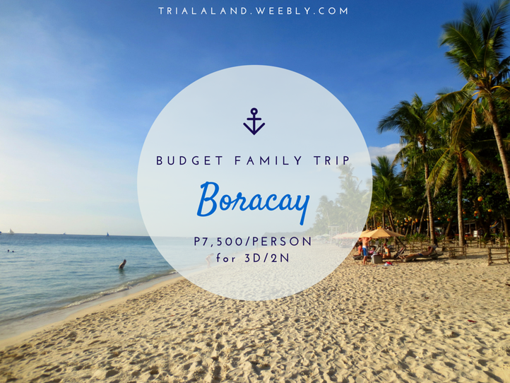 Budget Family Trip to Boracay